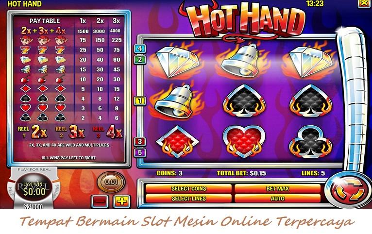 Tempat Bermain Slot Mesin Online Terpercaya